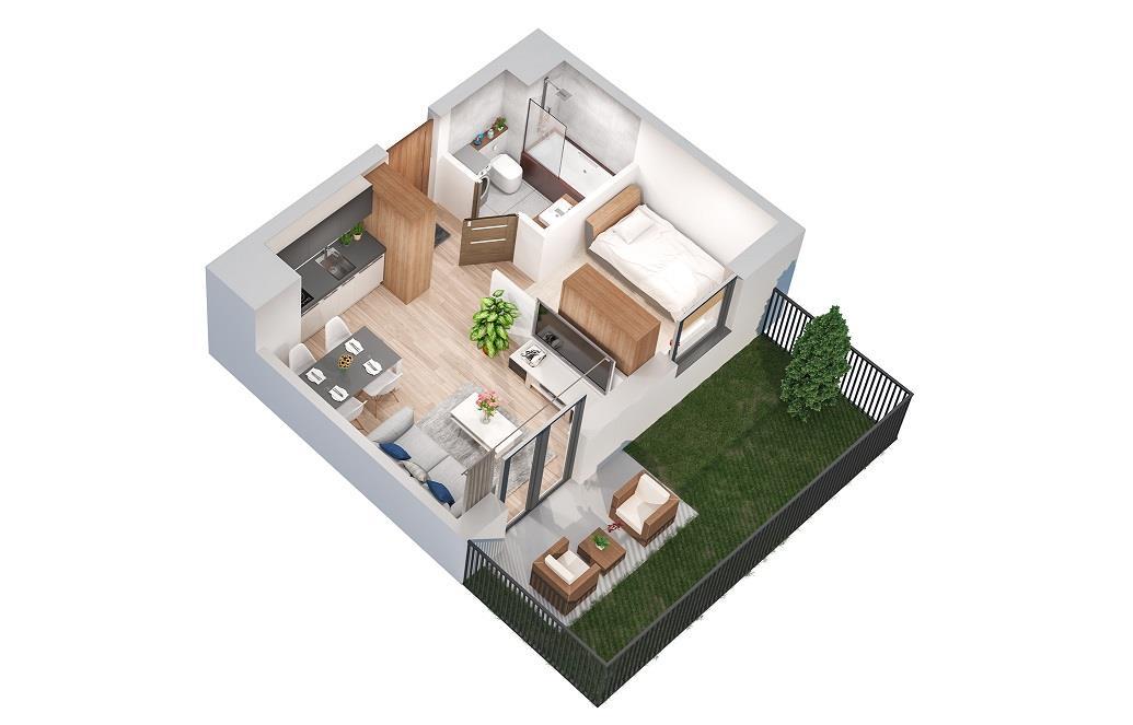 Rzut mieszkania: 0.A.1